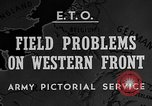 Image of Western Front snow scenes January 1945 in World War II Europe, 1945, second 5 stock footage video 65675043290