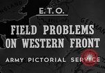 Image of Western Front snow scenes January 1945 in World War II Europe, 1945, second 7 stock footage video 65675043290