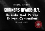 Image of The Shriners parade New York United States USA, 1964, second 2 stock footage video 65675043298