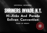 Image of The Shriners parade New York United States USA, 1964, second 3 stock footage video 65675043298