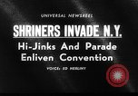 Image of The Shriners parade New York United States USA, 1964, second 4 stock footage video 65675043298