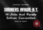 Image of The Shriners parade New York United States USA, 1964, second 5 stock footage video 65675043298