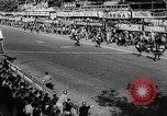 Image of 24 hours motorcycle race Spain, 1964, second 5 stock footage video 65675043300