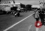 Image of 24 hours motorcycle race Spain, 1964, second 9 stock footage video 65675043300