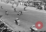 Image of 24 hours motorcycle race Spain, 1964, second 12 stock footage video 65675043300