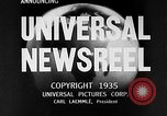 Image of Bruno Richard Hauptmann on trial Flemington New Jersey USA, 1935, second 5 stock footage video 65675043301