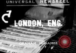 Image of King George V London England United Kingdom, 1935, second 1 stock footage video 65675043305