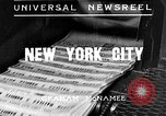 Image of Normandie maiden voyage New York City USA, 1935, second 1 stock footage video 65675043309