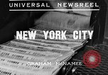 Image of Normandie maiden voyage New York City USA, 1935, second 2 stock footage video 65675043309