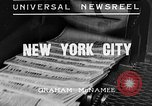Image of Normandie maiden voyage New York City USA, 1935, second 3 stock footage video 65675043309