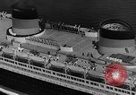 Image of Normandie maiden voyage New York City USA, 1935, second 11 stock footage video 65675043309