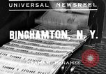 Image of flooded city Binghamton New York USA, 1935, second 2 stock footage video 65675043313