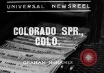 Image of flooded city Colorado Springs Colorado USA, 1935, second 3 stock footage video 65675043314