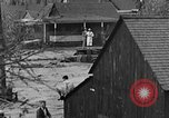 Image of flooded city Colorado Springs Colorado USA, 1935, second 10 stock footage video 65675043314