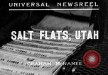 Image of Salt Flats Utah United States USA, 1935, second 1 stock footage video 65675043319