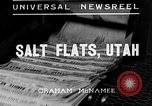Image of Salt Flats Utah United States USA, 1935, second 2 stock footage video 65675043319