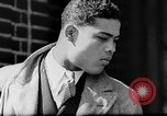 Image of boxer Joe Louis with Marva Trotter New York City USA, 1935, second 7 stock footage video 65675043320