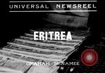 Image of soldiers advance Eritrea, 1935, second 2 stock footage video 65675043327