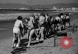 Image of Home made diving suit Venice Beach Los Angeles California USA, 1935, second 9 stock footage video 65675043334