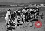 Image of Home made diving suit Venice Beach Los Angeles California USA, 1935, second 12 stock footage video 65675043334
