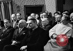Image of Reverend George Pire Belgium, 1958, second 12 stock footage video 65675043359