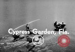 Image of Hydro-Glider Cypress Garden Florida USA, 1955, second 5 stock footage video 65675043381