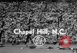 Image of Football match Chapel Hill North Carolina USA, 1955, second 2 stock footage video 65675043382