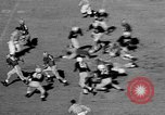 Image of Football match Chapel Hill North Carolina USA, 1955, second 6 stock footage video 65675043382