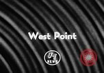 Image of Football match West Point New York USA, 1957, second 3 stock footage video 65675043392