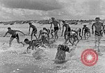 Image of Hitler Youth at beach Poland, 1940, second 12 stock footage video 65675043398