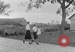 Image of Hitler Youth camp Poland, 1940, second 9 stock footage video 65675043399