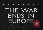 Image of War ends in Europe Italy, 1945, second 2 stock footage video 65675043440