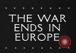 Image of War ends in Europe Italy, 1945, second 4 stock footage video 65675043440