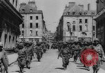 Image of United States troops Rennes France, 1944, second 8 stock footage video 65675043448