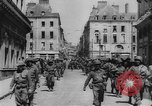 Image of United States troops Rennes France, 1944, second 10 stock footage video 65675043448