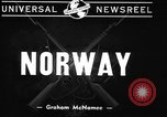 Image of British warships Norway, 1940, second 9 stock footage video 65675043459
