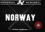 Image of British warships Norway, 1940, second 11 stock footage video 65675043459