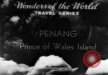 Image of Temples Penang Malaysia, 1937, second 2 stock footage video 65675043494