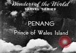 Image of Temples Penang Malaysia, 1937, second 3 stock footage video 65675043494