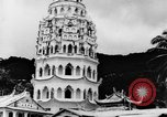 Image of Temples Penang Malaysia, 1937, second 12 stock footage video 65675043494