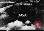 Image of Wonders of the World Java Indonesia, 1937, second 1 stock footage video 65675043499