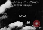 Image of Wonders of the World Java Indonesia, 1937, second 5 stock footage video 65675043499