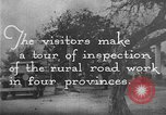 Image of Visitors inspect rural roads of Argentina Argentina, 1929, second 11 stock footage video 65675043510