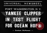 Image of Trans Atlantic seaplane New York United States USA, 1938, second 4 stock footage video 65675043518