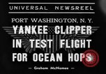 Image of Trans Atlantic seaplane New York United States USA, 1938, second 5 stock footage video 65675043518