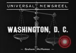 Image of Associate Justice Pierce Butler Washington DC USA, 1938, second 3 stock footage video 65675043522