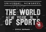 Image of Golden Glove finalists New York United States USA, 1938, second 3 stock footage video 65675043529