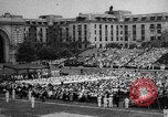 Image of Midshipmen's graduation ceremony Annapolis Maryland USA, 1939, second 1 stock footage video 65675043532