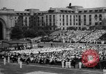 Image of Midshipmen's graduation ceremony Annapolis Maryland USA, 1939, second 2 stock footage video 65675043532