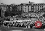 Image of Midshipmen's graduation ceremony Annapolis Maryland USA, 1939, second 3 stock footage video 65675043532